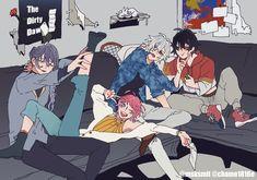 in hypnosismic may in hypmic may -------'… # Humor # amreading # books # wattpad Anime Guys, Manga Anime, Anime Art, Super Hero Life, Yandere Boy, Otaku, Elsword, Rap Battle, Pokemon