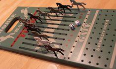 Horse Race Game by DDRedBarnWoodshop on Etsy