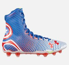 Under Armour Releases Marvel & DC Superhero Football Cleats