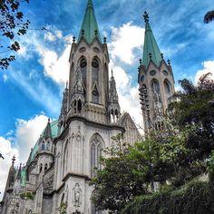 Catedral da Sé by @juscelinofreitas_ #saopaulocity