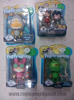 Poptropica Figures. Check out our flickr at https://www.flickr.com/photos/ragingnerdgasm/sets/72157631125847668/