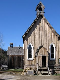 St.Saviour's Church, Barkerville, BC, Canada
