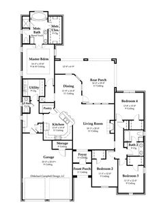 house plan 2365 square feet french country home style design french country house plan