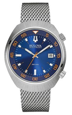 "New Bulova​ Accutron II UHF Sport Watches For Baselworld 2015 - by Ariel Adams - read more and see the other new models on aBlogtoWatch.com ""Simple, satisfying, good value proposition, and timeless... these are some of the things Bulova is doing a good job at becoming known for over the last few years, especially when it comes to their quickly developing Accutron II collection with their UHF movements. ""UHF"" stands for Ultra High Frequency and refers to their extra-high frequency quartz…"
