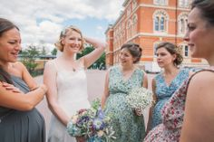 Bridesmaids. Wedding photography by Brighton Photographer Emma Lucy