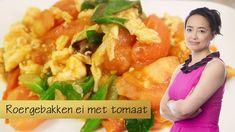 Klassieker: Roergebakken ei met tomaat