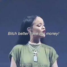 Rihanna Music Videos, Rihanna Video, Rihanna Song, Rihanna Concert, Mode Rihanna, Rihanna Riri, Rihanna Style, Money Lyrics, Rihanna Looks
