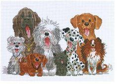 Dogs - Cross Stitch Patterns & Kits (Page 4) - 123Stitch.com