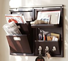 Build Your Own - Daily System Components - Espresso stain | Pottery Barn