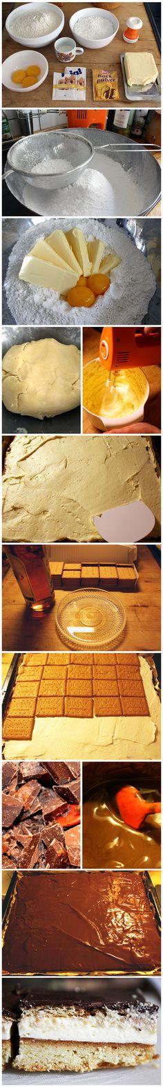 LPG-Kuchen | Rezepte aus der DDR Rezept auf www.zsa-zsa-zsu.de #yammi #foodporn #backen #kuchen #butterkeks