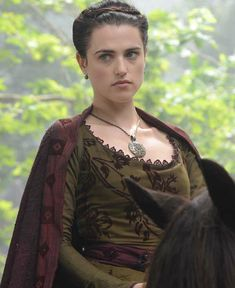 """Labyrinth"" Katie McGrath as Oriane Congost"