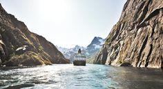Le Nord de la Norvèg