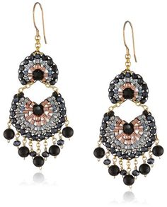 Miguel Ases Onyx and Rose Gold Fan Multi-Drop Earrings Miguel Ases,http://www.amazon.com/dp/B00G33C6V4/ref=cm_sw_r_pi_dp_DMghtb1AV4F2VZK3