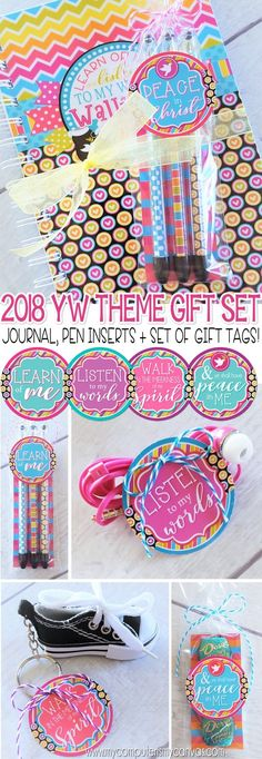 2018 YW Journal & Gift Tag Printables - Peace in Christ, D&C 19:23, gift ideas - great favor for New Beginnings! #mycomputerismycanvas #peaceinchrist
