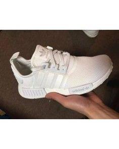 pretty nice 751a4 ab58e Adidas Originals NMD All White Womens Mens,womens,womans shoes -  TrendsBest