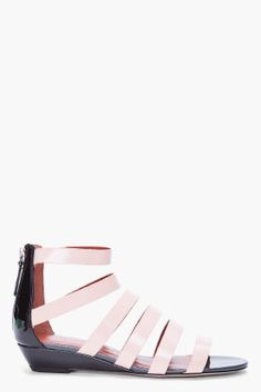 MARC BY MARC JACOBS Blush Leather Sandal