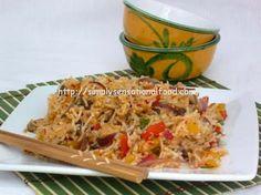 Delicious Singapore Szechaun Stirfried Rice