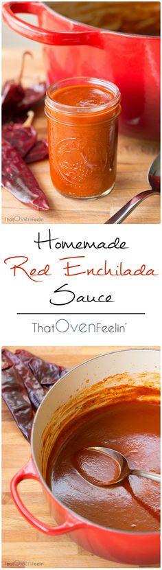 Guajillo Chili Red Enchilada Sauce