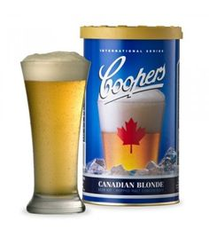 The Coopers DIY Canadian Blonde Concentrate has a pale straw colour. Crisp pale malt aromas with a hint of spicy hops, clean pale malt flavours and a light-bodied palate that finishes with obvious hop bitterness. Perfect for summer drinking.