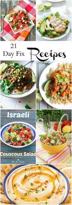 21 Day Fix Recipes. Healthy recipe ideas.