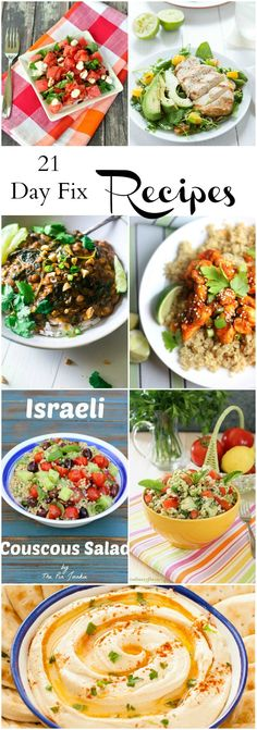 21 Day Fix Recipes. Healthy recipe ideas.