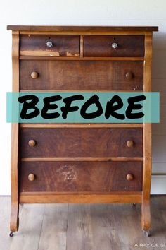 here are a few furniture makeovers that entirely repurposed the furniture and will leave you in awe: Diy Furniture Renovation, Diy Furniture Decor, Refurbished Furniture, Repurposed Furniture, Furniture Projects, Wood Furniture, Diy Home Decor, Furniture Design, Garden Furniture
