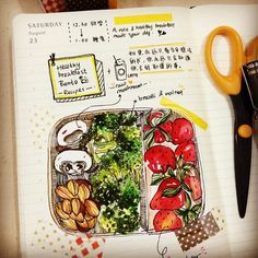 breakfast journal :: 手帳