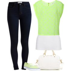 Street Style: White and Lime