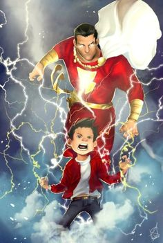 What we know about the DC Comics Upcoming Shazam Movie. Including roles that have been cast, possible villains and possible plots. Marvel Dc Comics, Heroes Dc Comics, Dc Comics Characters, Dc Comics Art, Comic Book Heroes, Comic Books Art, Comic Art, Book Art, Captain Marvel Shazam