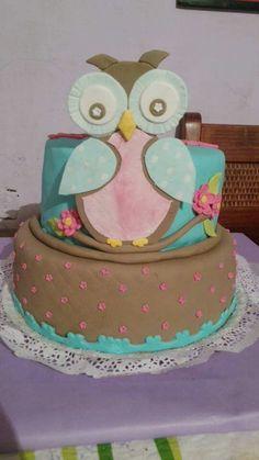 Torta búhos