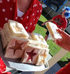 Themed sandwiches...