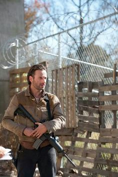 Rick/Walking Dead