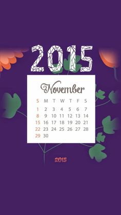 2015 November Wallpaper