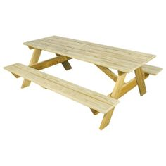 #Amish Pine 6' #Picnic #Table