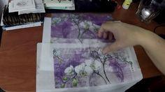 Kép nyomtatása és transzferezése szalvétára dekupázs technikához Steampunk, Flower Art, Techno, Stencils, Vintage, Flowers, Projects, Diy, Handmade