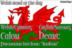 Welsh word of the day: Calon/Heart