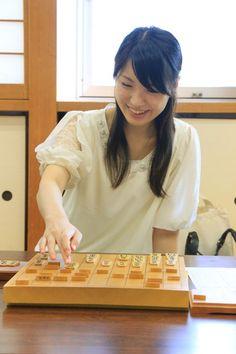 山口恵梨子女流初段来訪
