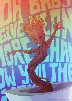Groot - Guardians Of The Galaxy