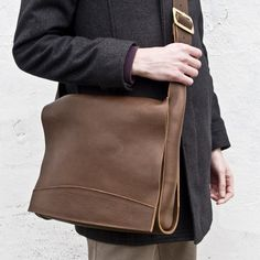 Floppy Leather Messinger Bag