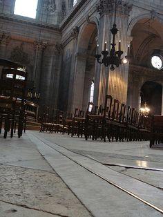The brass line.   Saint Sulpice -   Paris