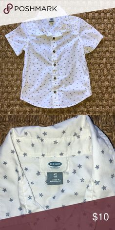 Old Navy short sleeve button down Boys Old Navy short sleeve button down  with star print. Navy ShirtsOld Navy ShortsDown ... 3d57e32f7