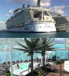 Walking inside the Oasis Of The Seas. Watch > http://www.miraedestino.com/zildabrandaoh.cfm?id=3132 #OasisOfTheSeas