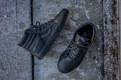 "Vans Sk8-Hi Reissue ""Snake Leather"" Pack - EU Kicks: Sneaker Magazine"