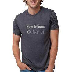 New Orleans Guitarist T-Shirt