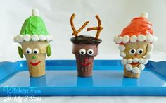Christmas Cupcake Cones..super easy & kids can make these themselves!