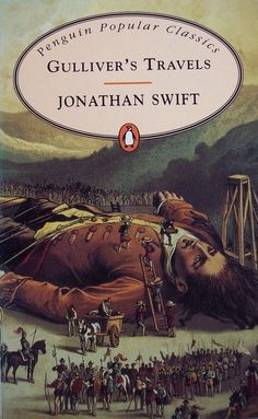 All about Gulliver's Travels by Jonathan Swift. LibraryThing is a cataloging and social networking site for booklovers Reading Time, Reading Lists, Books To Read, My Books, Jonathan Swift, Gulliver's Travels, World Of Books, Reading Challenge, Penguin Books