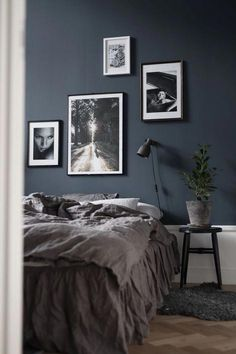 ✔ 79 best gray bedroom ideas to ward off boredom 51 # ward # best . ✔ 79 best gray bedroom ideas to ward off boredom 51 # ward off ideas ✔ 79 beste graue Schlafzimmerideen zur Abwehr von Langeweile 51 … 1 Source by Gray Bedroom, Trendy Bedroom, Bedroom Inspo, Bedroom Colors, Modern Bedroom, Grey Bedding, Blue Bedrooms, Bedroom Ideas Grey, Dark Bedroom Walls