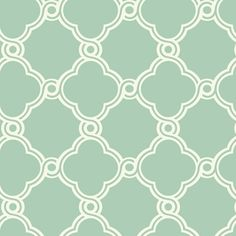 York Wallcoverings 'Open Trellis' wallpaper