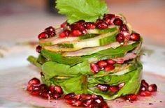 Vegie Head » Pomegranate summer salad…