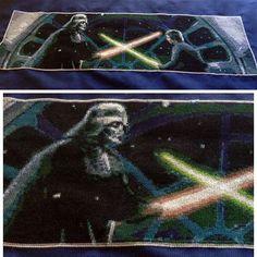 Amazingly detailed Star Wars Cross Stitch